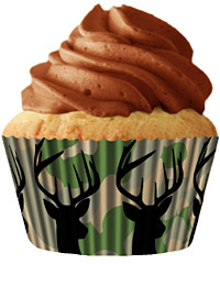 cupcake paper wrappers 9180 Deer hunter