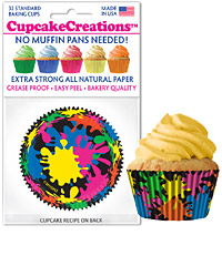 cupcake paper wrappers 9144 Paint