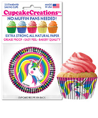 cupcake paper wrappers 9149 Unicorn
