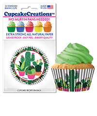 cupcake paper wrappers 9179 Cactus